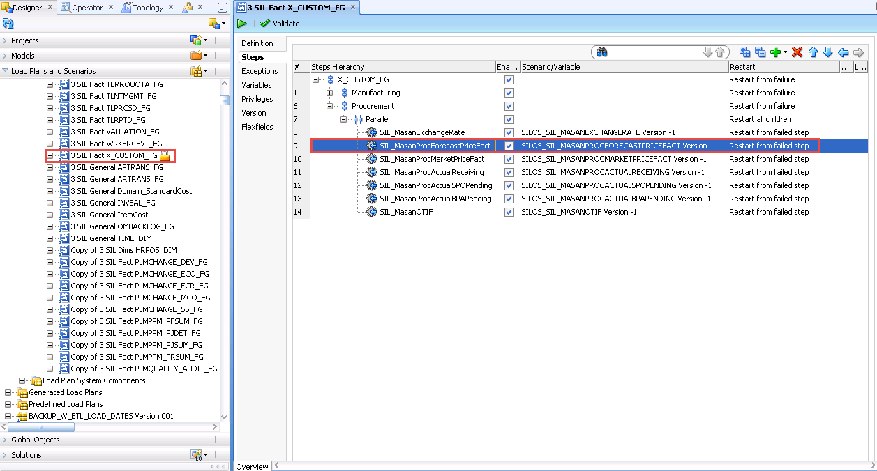 How to add new fact tables in Oracle BI Apps 11 1 1 8 1