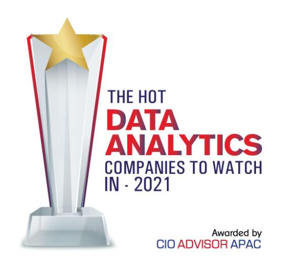 Just Analytics - CIO Advisor's APAC Top 10 Hot Data Analytics Companies to Watch in 2021