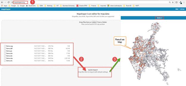 Shape Map visualization in Power BI